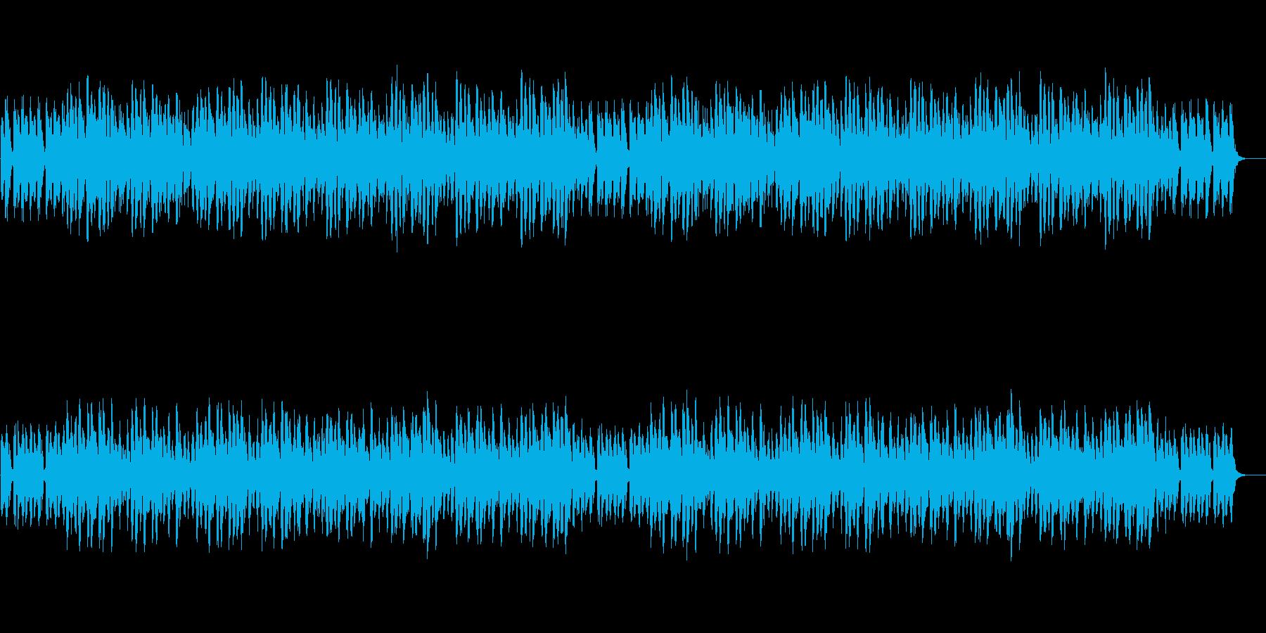 ほのぼのとした日常の再生済みの波形