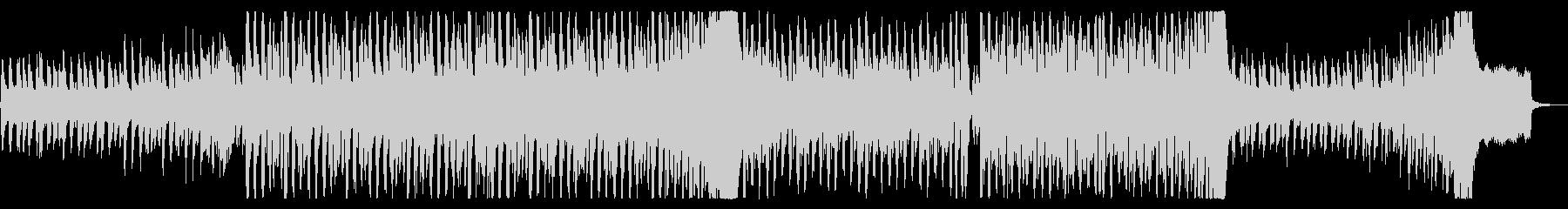 心弾むリズミカルなテクノポップの未再生の波形