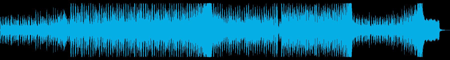 心弾むリズミカルなテクノポップの再生済みの波形