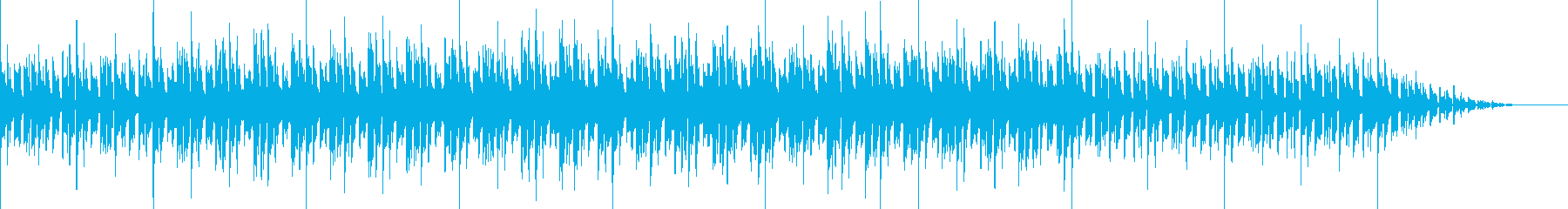 まったりポップの再生済みの波形