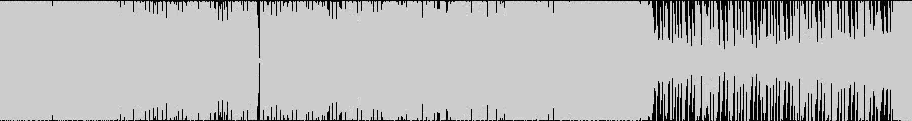 EDM オープニング スポーツ ループの未再生の波形