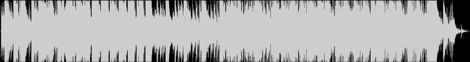 和楽器を用いた切ないバラードの未再生の波形