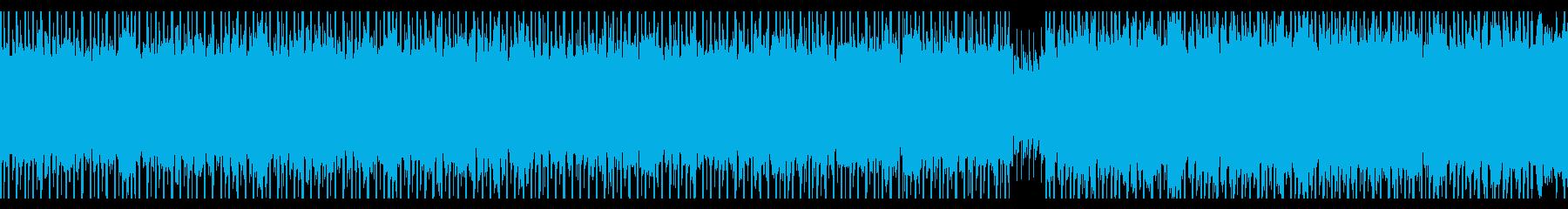 教育(ループ)の再生済みの波形