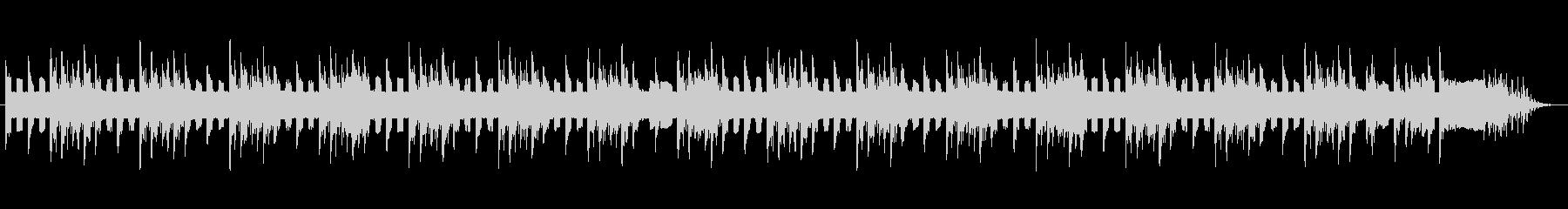ファミコン風の短めなジングル&BGMの未再生の波形