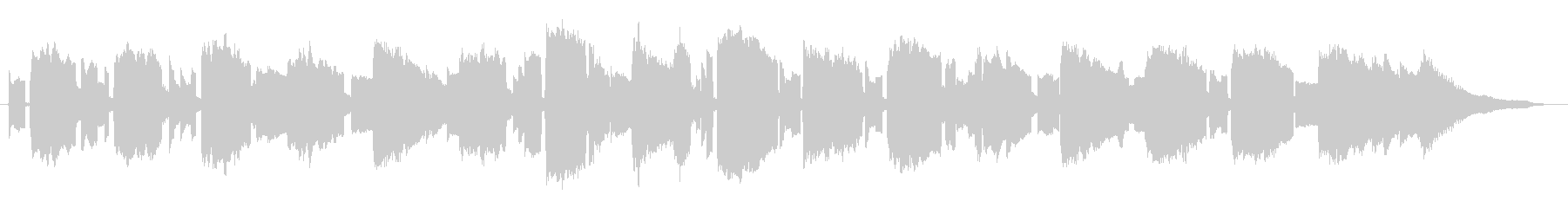 リコーダー ピアノのアメイジンググレースの未再生の波形