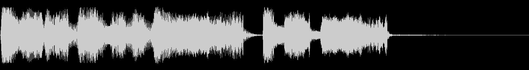 【パステルカラー2】の未再生の波形