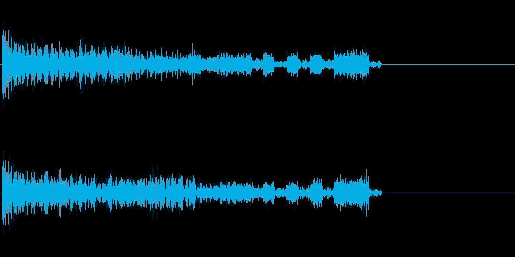 ズクズズージャジャジ (開始・スタート)の再生済みの波形