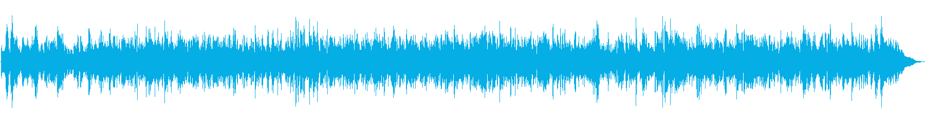 JAZZ|映像制作・店舗・施設向けBGMの再生済みの波形