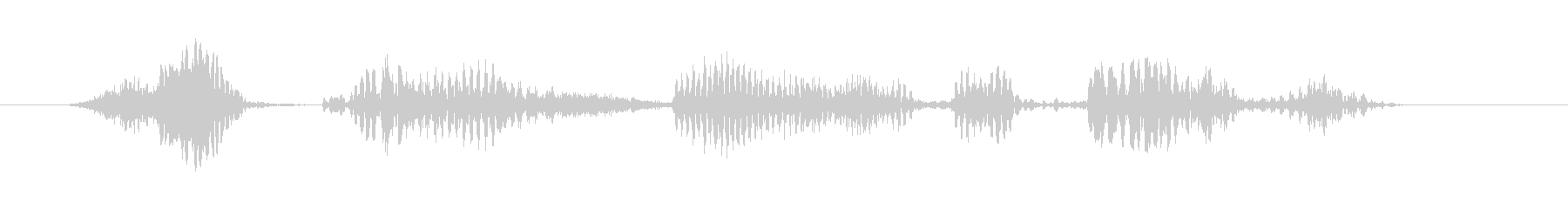 Alien Voice:アルファ象...の未再生の波形
