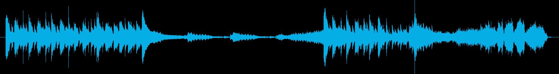 気まぐれな「ジェームズボンド」の状...の再生済みの波形