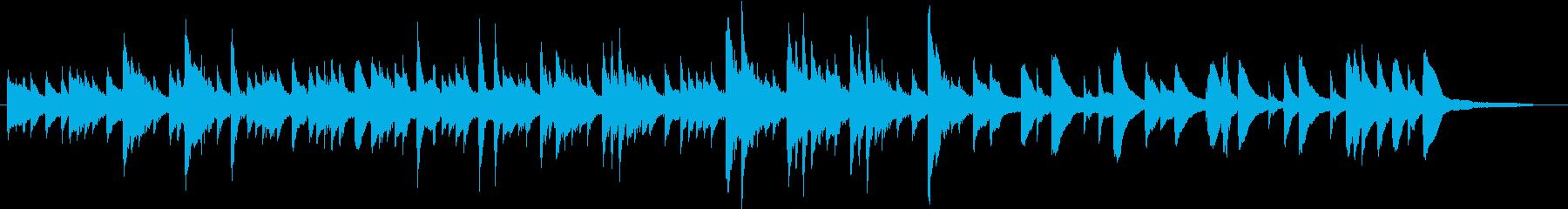 洋楽ピアノ 不安と希望 映像 ヒーリングの再生済みの波形