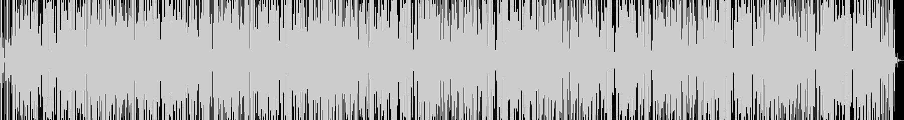 ルンバとファンクの融合したラテングルーヴの未再生の波形