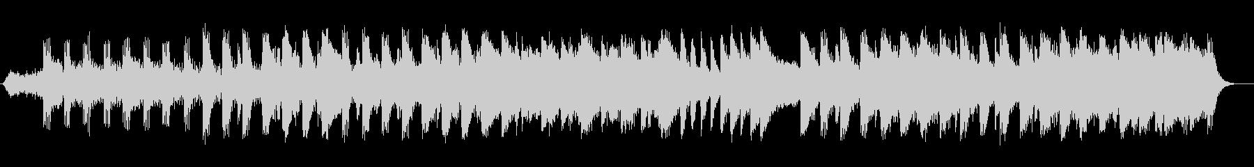 神秘的な弦楽器シンセサイザーサウンドの未再生の波形