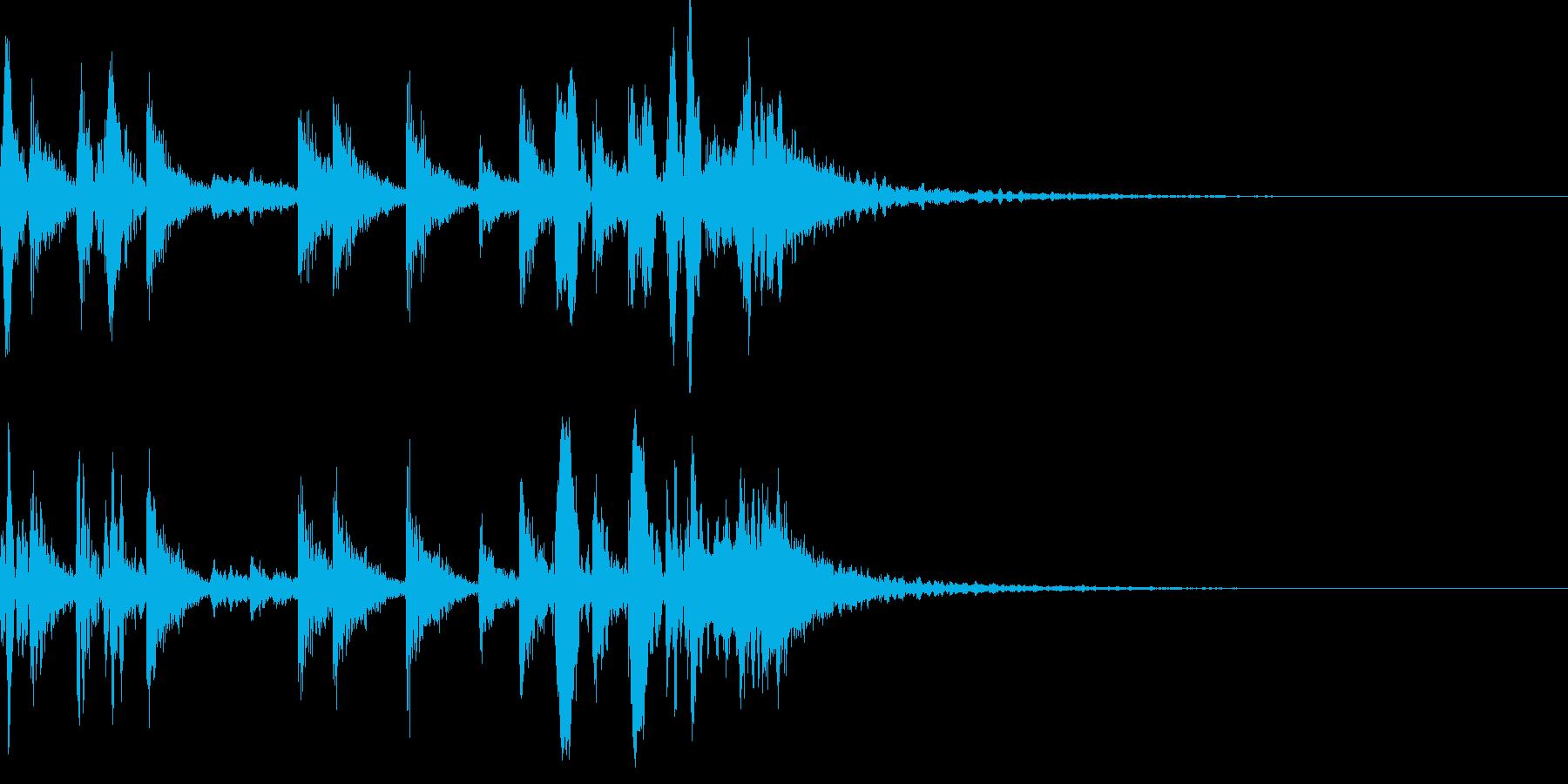 生ドラムロール ジングル 場面転換♪03の再生済みの波形