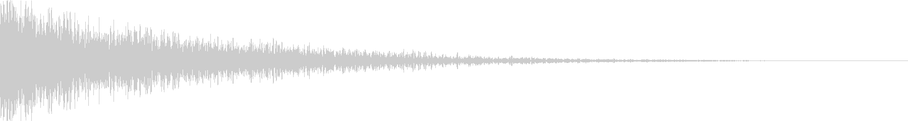 タイトル表記_アクセント音_3の未再生の波形