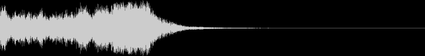 ファンファーレ オーケストラ 豪華 1の未再生の波形