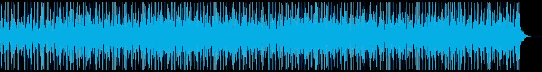 爽やかでセンチメンタルな夏のEDMの再生済みの波形