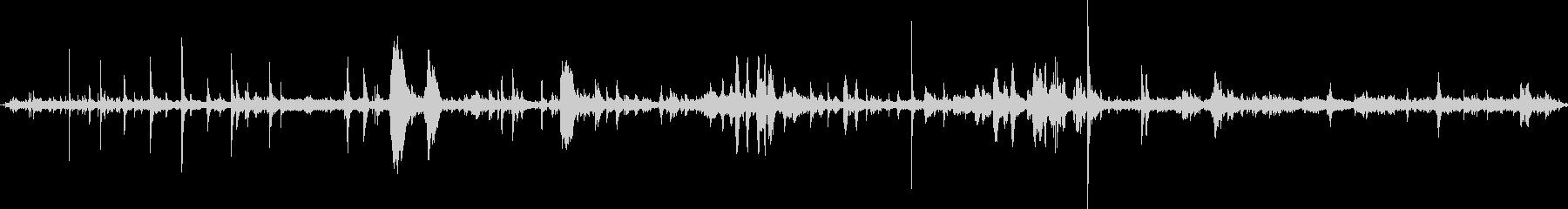 大宴会場:乗組員のセットアップ:声...の未再生の波形