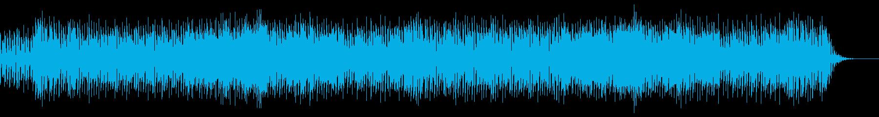 ニュー・ウェーヴパンクインストの再生済みの波形