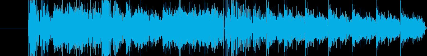 メカニカル/ロボットのサウンドドラ...の再生済みの波形