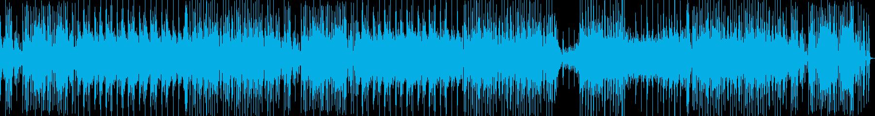 和風JAZZ企業VP明るい琴BGMの再生済みの波形