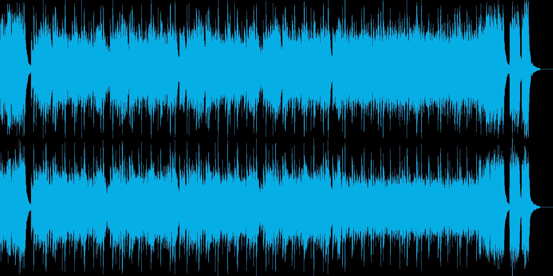 熱血ヒーロー・戦隊もの系のBGMの再生済みの波形