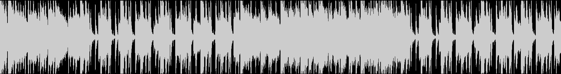 ゆったりコミカル/ループ/イントロ8秒の未再生の波形