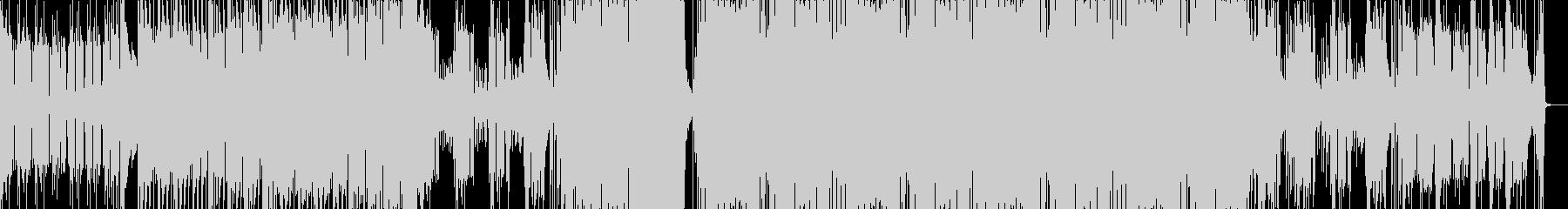 重厚なベースハウス(声ネタ無し)の未再生の波形