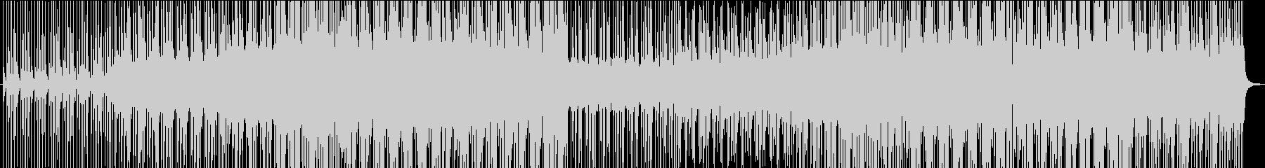 マリンバとピアノが奏でるハーモニーの未再生の波形