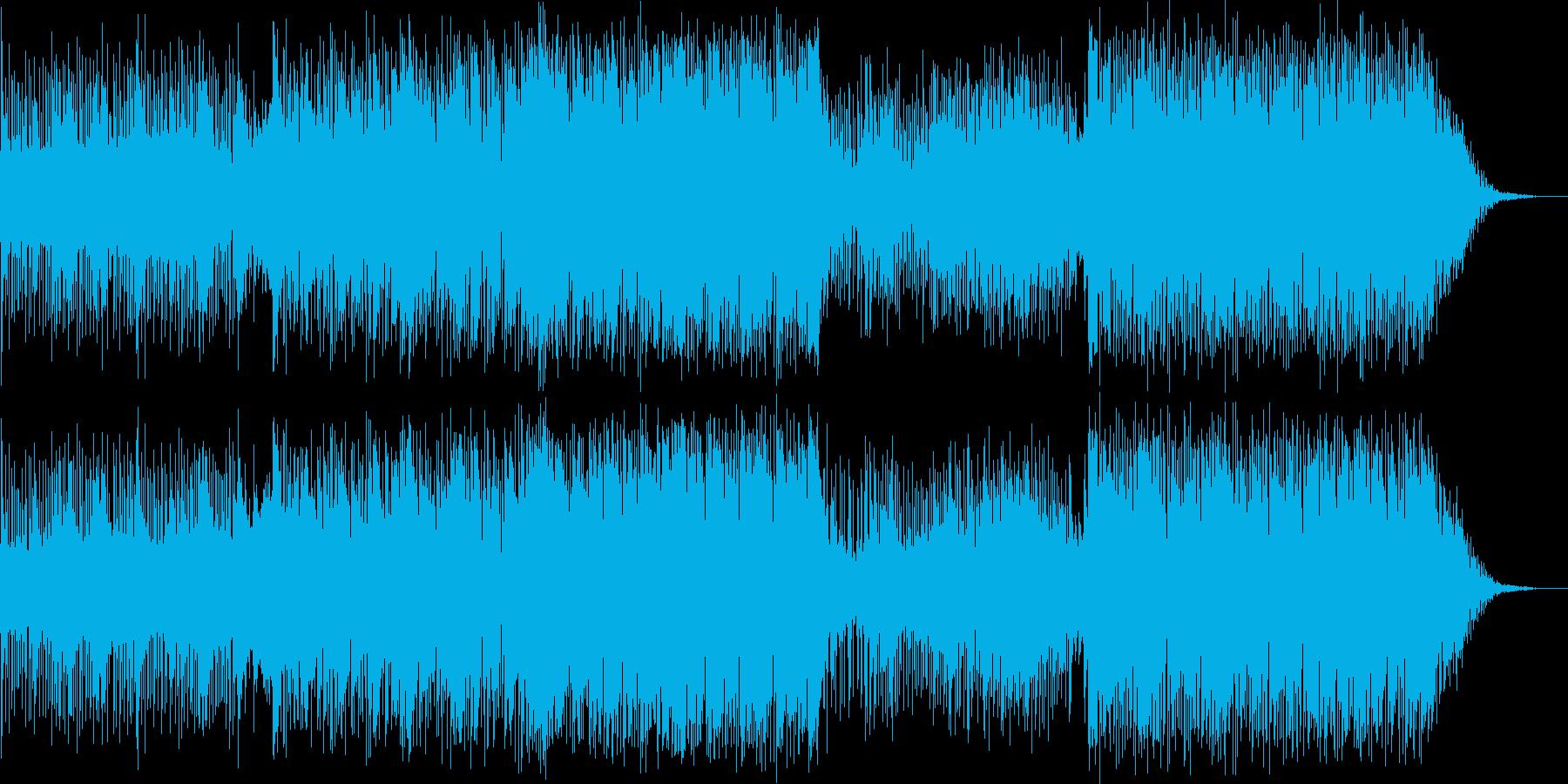 Jazz Funkの再生済みの波形