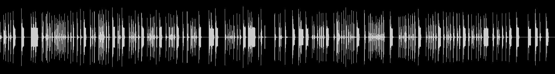 パンチングキーボード、ビープ音、オ...の未再生の波形
