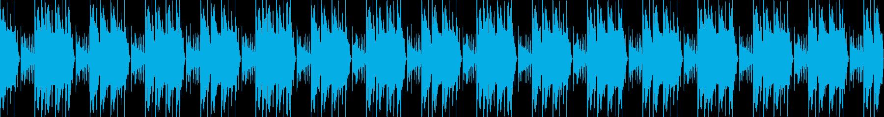 普通のトラップビート【HipHop】の再生済みの波形