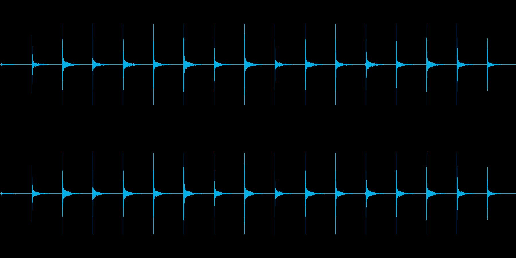 時計 ticktock_43-3_revの再生済みの波形