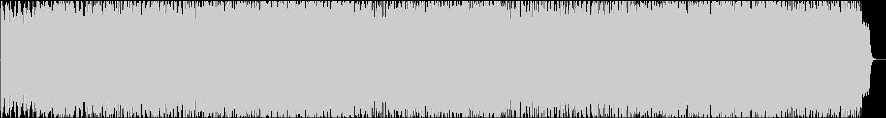 壮大なフルオーケストラの戦闘系のBGMの未再生の波形