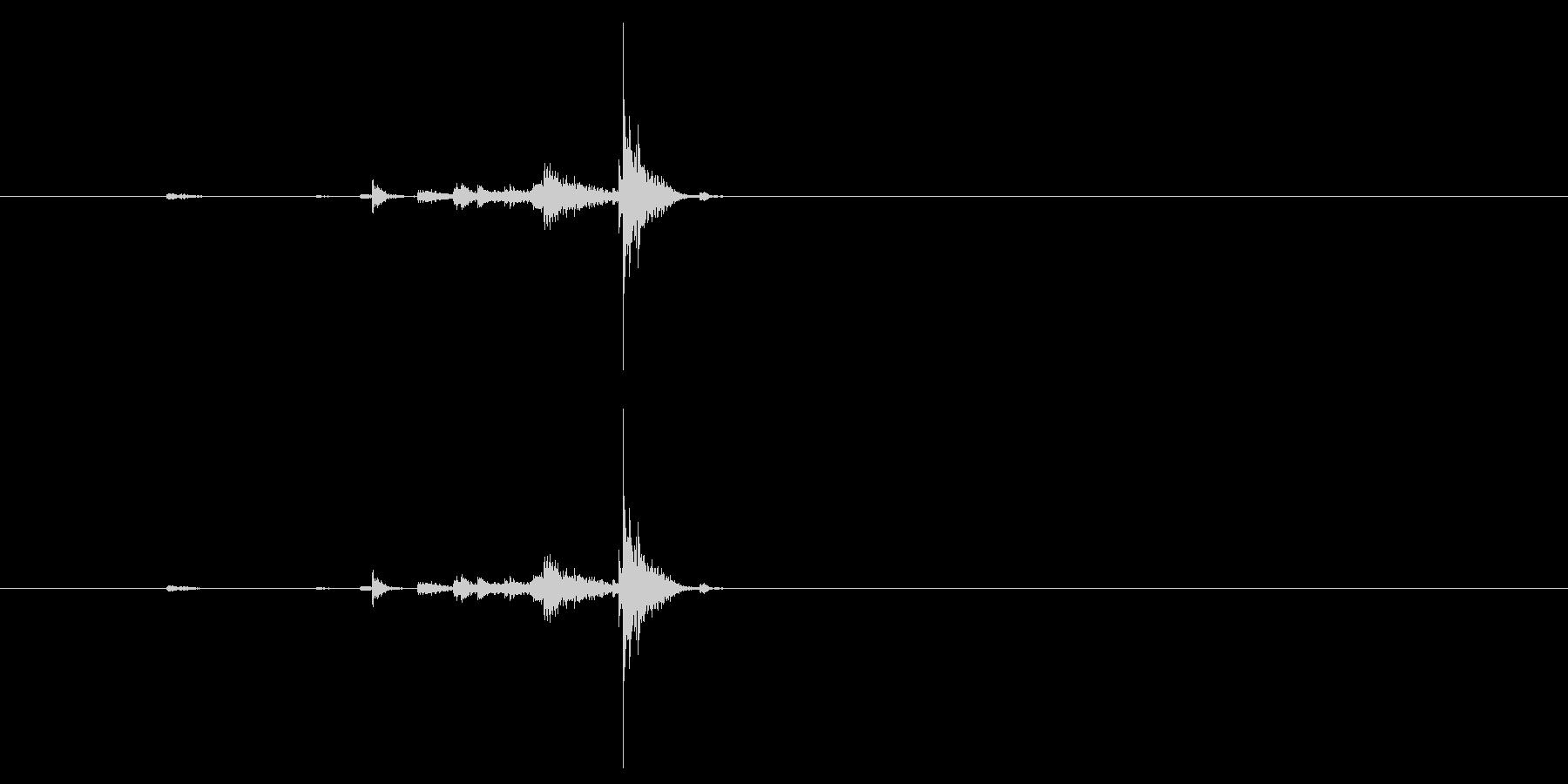 キー キーホルダー小物04の未再生の波形