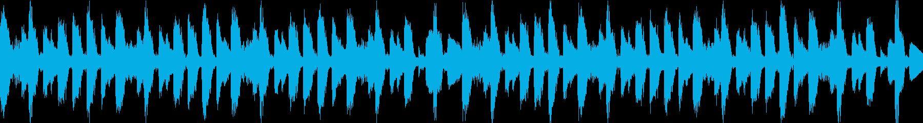 ニュース用  ループ曲の再生済みの波形