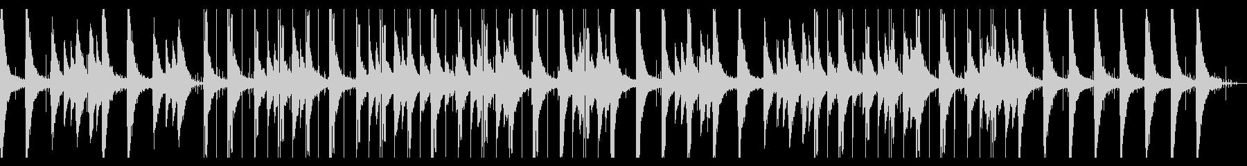 ギターソロのローファイヒップホップの未再生の波形