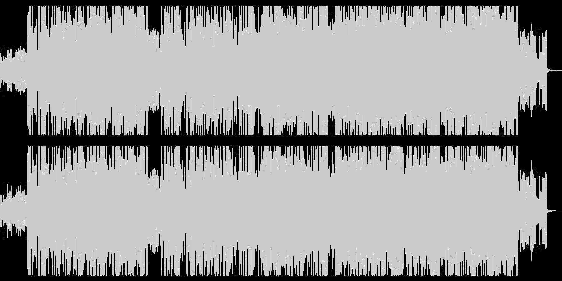 クリスマスセール・華やかで軽快なBGMの未再生の波形