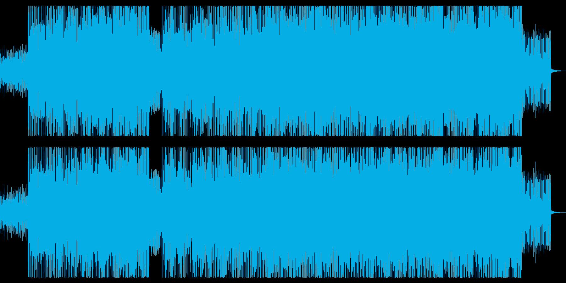 クリスマスセール・華やかで軽快なBGMの再生済みの波形