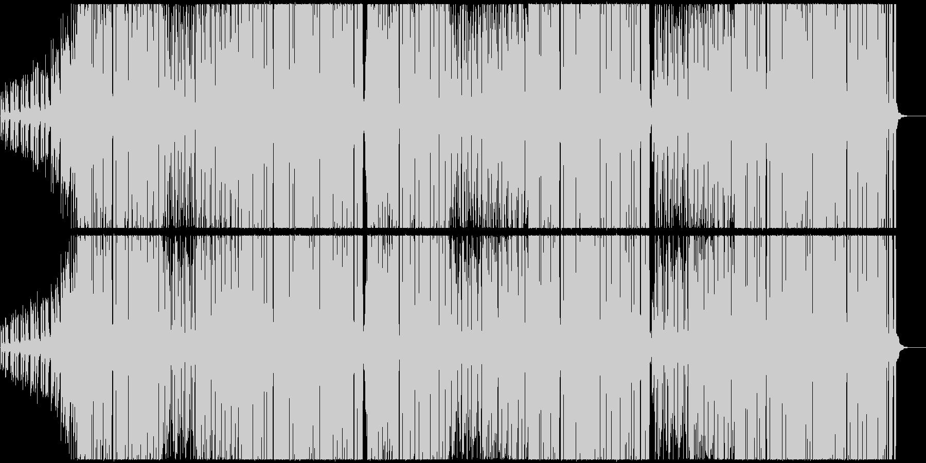 K-POP系Kawaiiポップトラックの未再生の波形