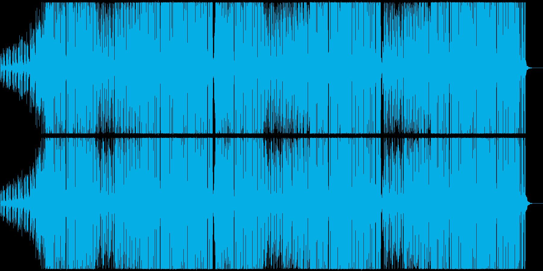K-POP系Kawaiiポップトラックの再生済みの波形