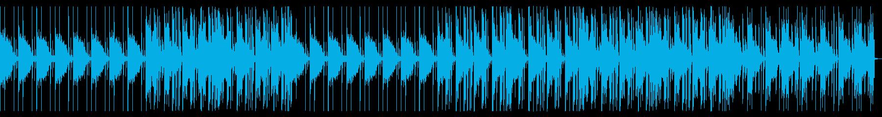 ビートの強いR&B_No673_1の再生済みの波形