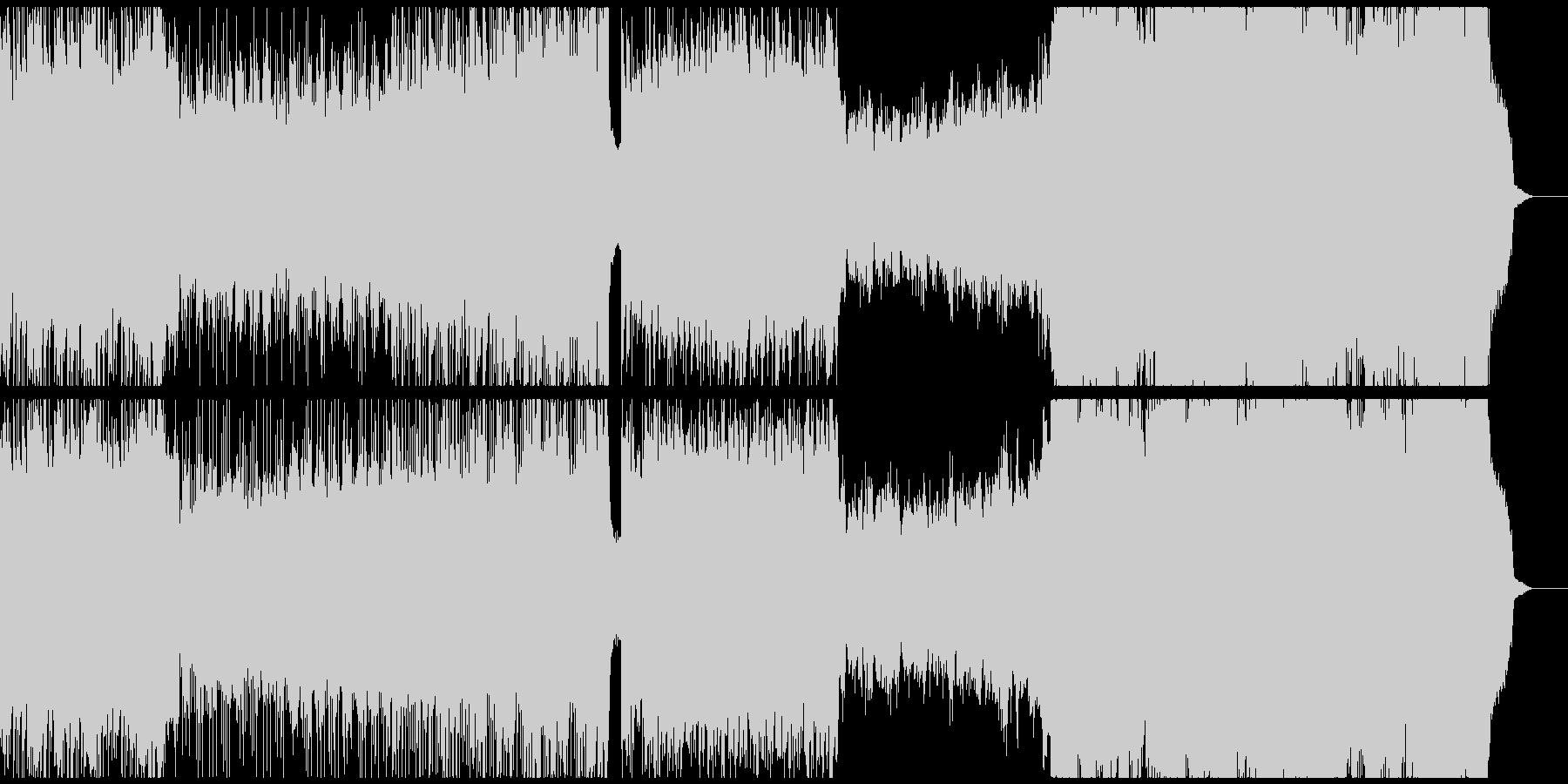 木管しばりのepic系戦闘曲の未再生の波形