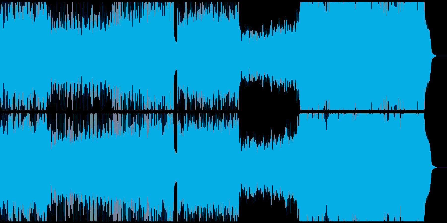 木管しばりのepic系戦闘曲の再生済みの波形
