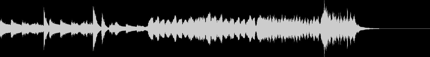 鐘の印象的なミステリアスな曲 幻想交響曲の未再生の波形