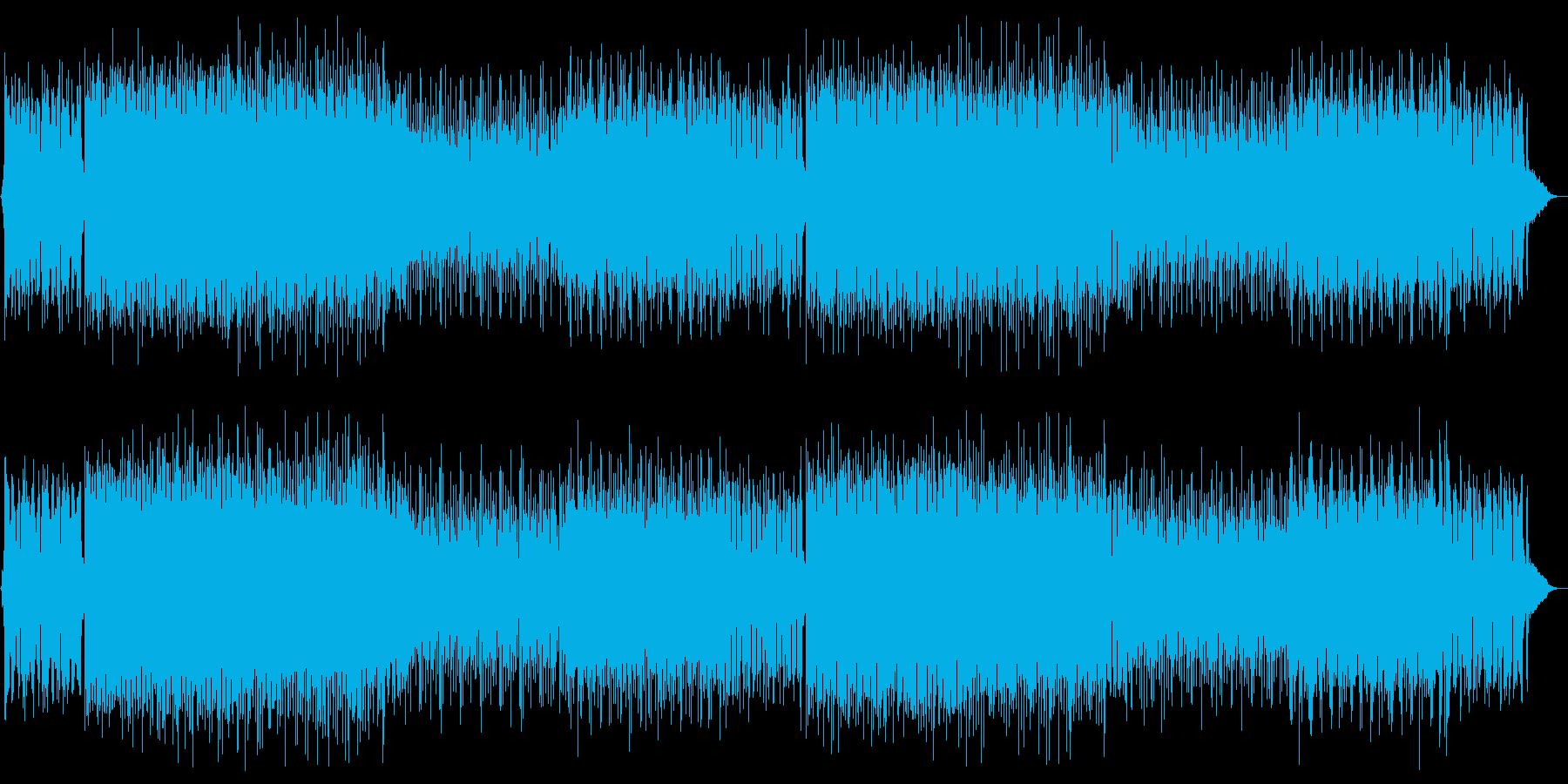 EDM ディスコ・おしゃれの再生済みの波形