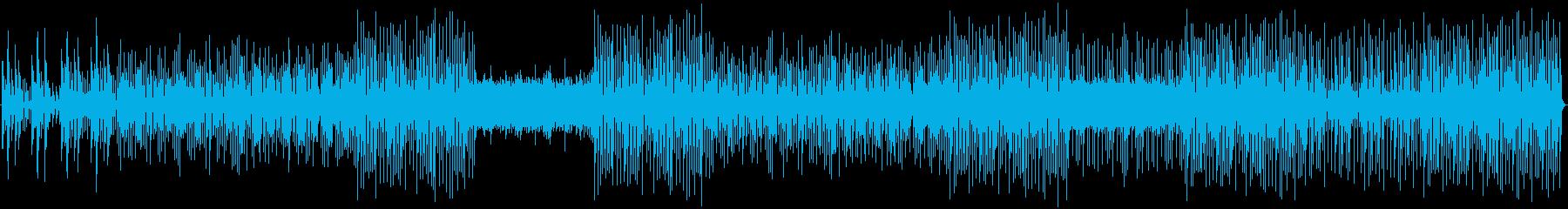 アコースティックギター、エレクトリ...の再生済みの波形