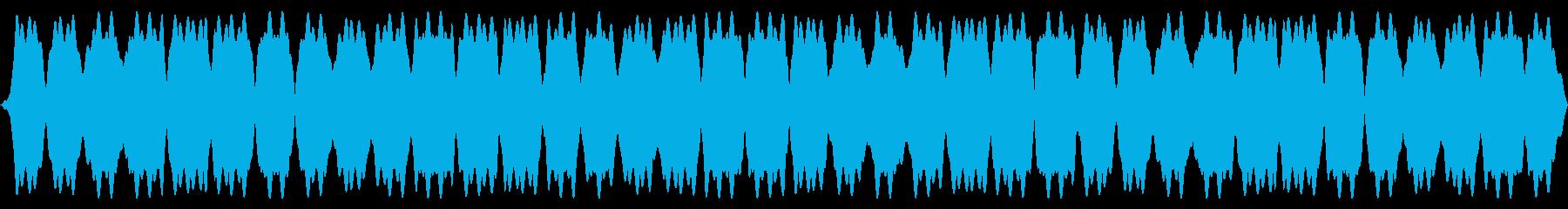 電気力場のパンの再生済みの波形