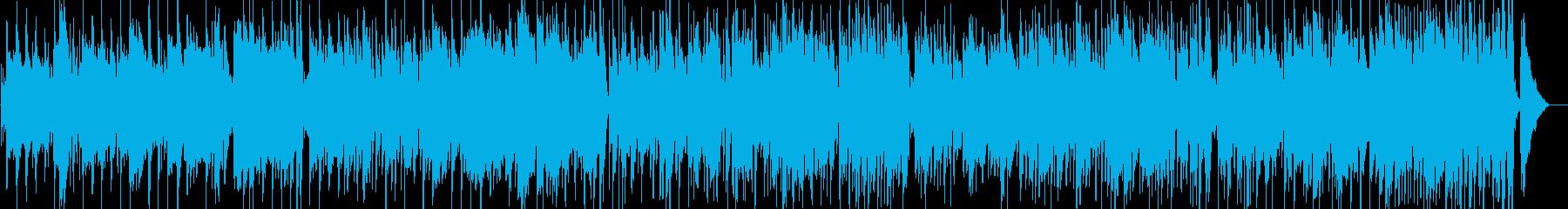 伝統的 ジャズ ビバップ ワールド...の再生済みの波形