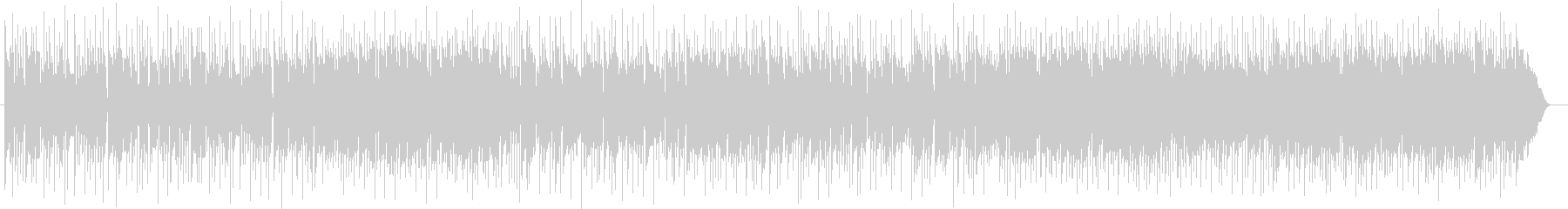 ミディアムテンポのギターサウンドの未再生の波形